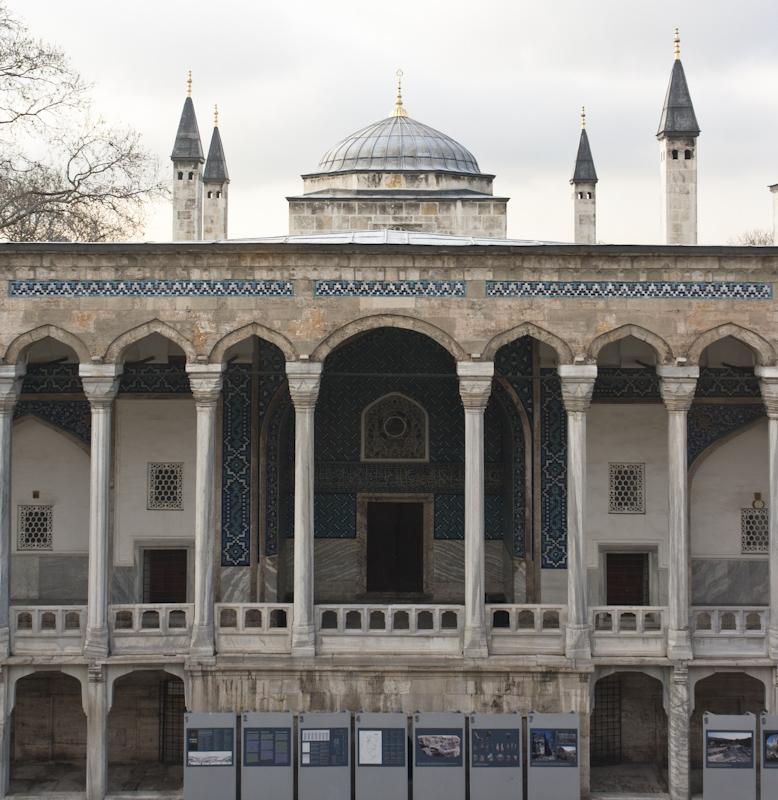 Secondary museum building, the Museum of Islamic Art. / Nebengebäude, das islamisch Kunstmuseum.