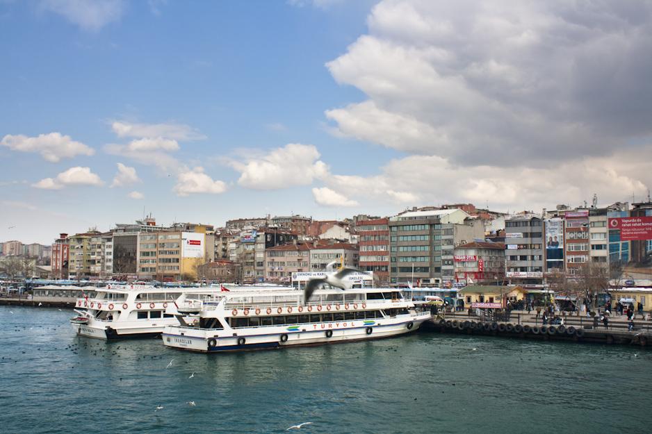 Bosphorus ferries.